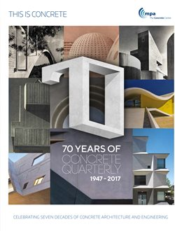 This is Concrete - 70 Years of Concrete Quarterly