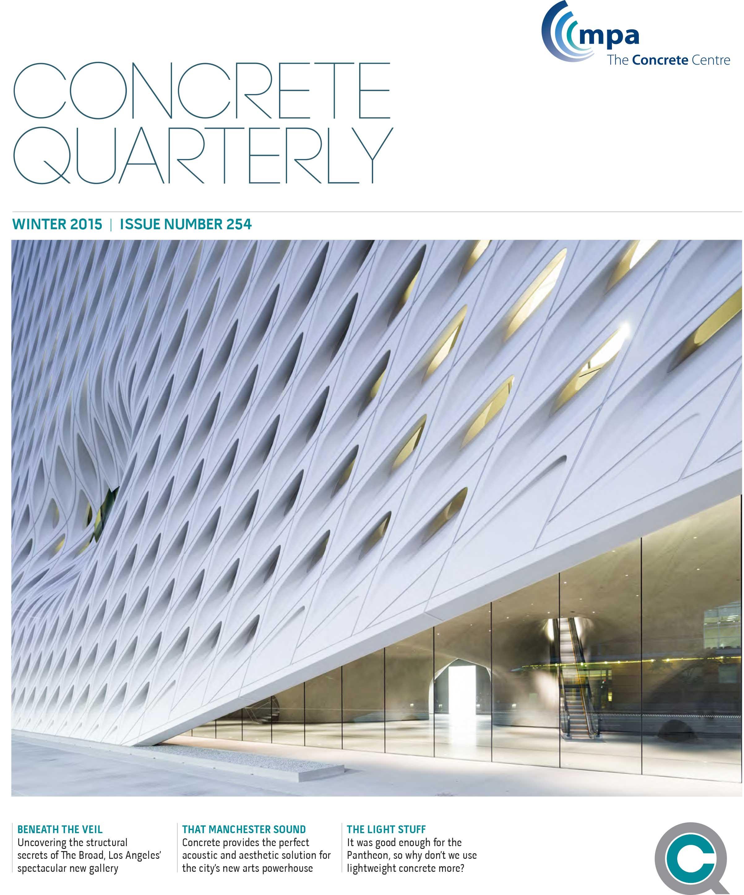 Download Concrete Quarterly Winter 2015